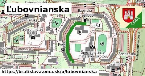 Ľubovnianska, Bratislava