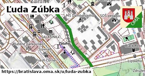 Ľuda Zúbka, Bratislava