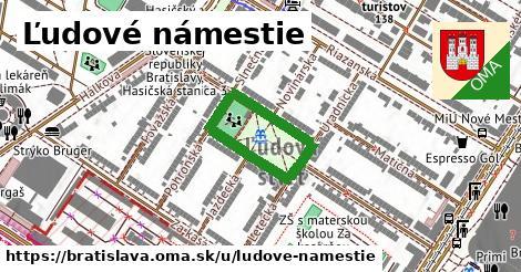 Ľudové námestie, Bratislava