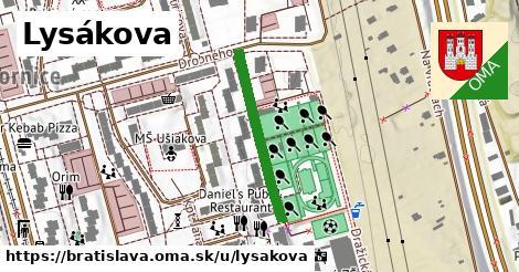 Lysákova, Bratislava