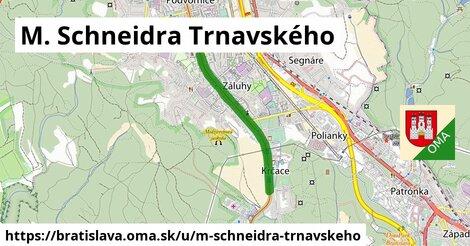 M. Schneidra Trnavského, Bratislava