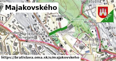 Majakovského, Bratislava