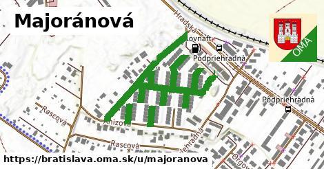 Majoránová, Bratislava
