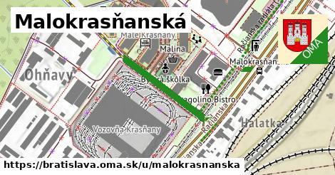 Malokrasňanská, Bratislava