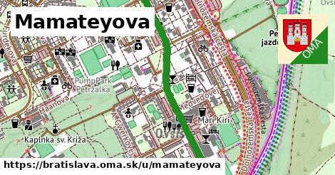 Mamateyova, Bratislava