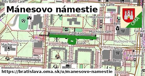 Mánesovo námestie, Bratislava