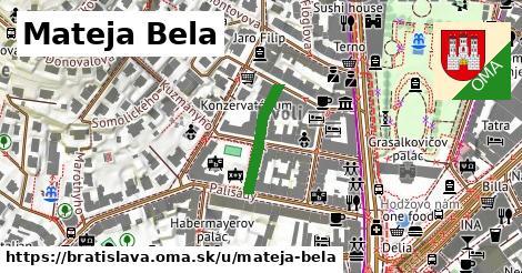 Mateja Bela, Bratislava