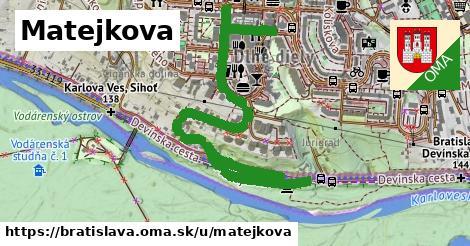 Matejkova, Bratislava