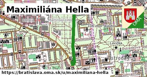 Maximiliána Hella, Bratislava