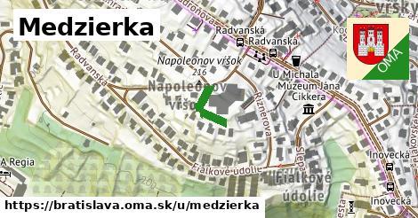 Medzierka, Bratislava