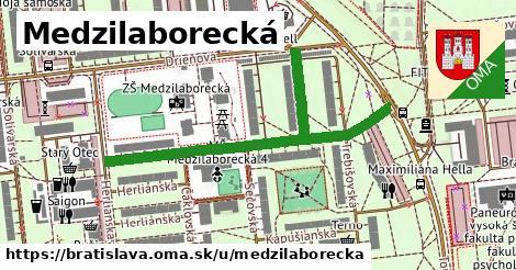Medzilaborecká, Bratislava