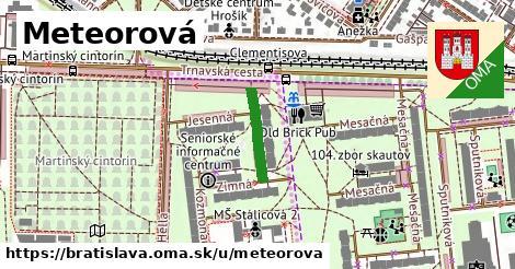 Meteorová, Bratislava