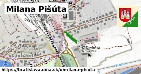 Milana Pišúta, Bratislava