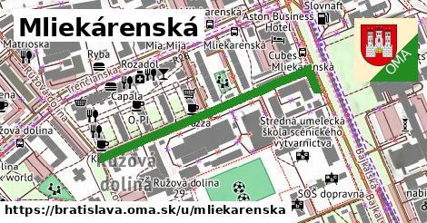 ilustrácia k Mliekárenská, Bratislava - 446m