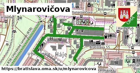 Mlynarovičova, Bratislava