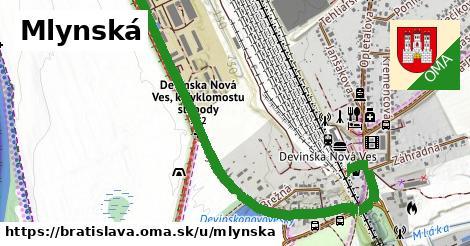 ilustrácia k Mlynská, Bratislava - 1,59km