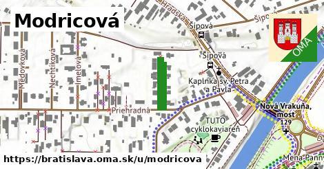 Modricová, Bratislava