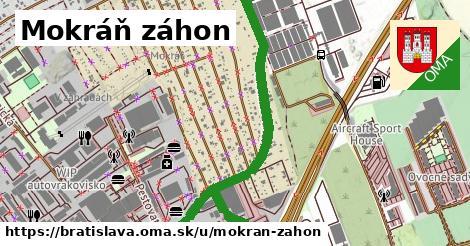 Mokráň záhon, Bratislava