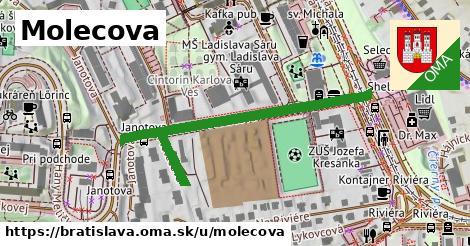 Molecova, Bratislava