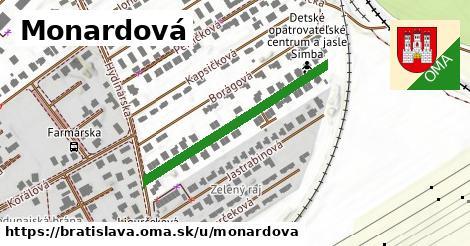 Monardová, Bratislava