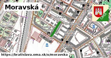 Moravská, Bratislava