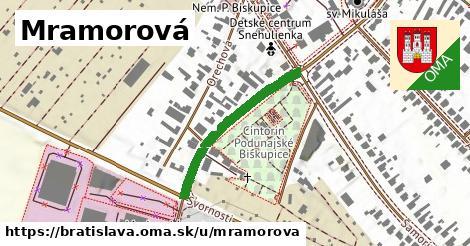 Mramorová, Bratislava