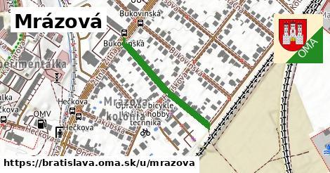 Mrázová, Bratislava