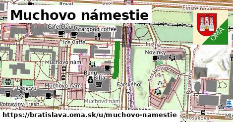 Muchovo námestie, Bratislava