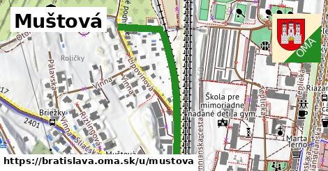 Muštová, Bratislava