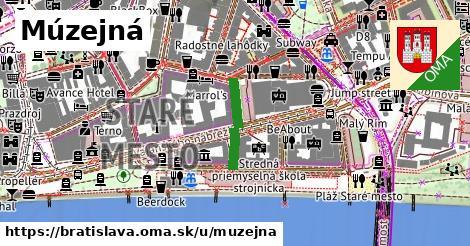 Múzejná, Bratislava