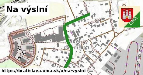 Na výslní, Bratislava