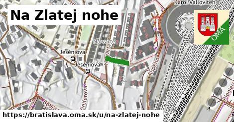 Na Zlatej nohe, Bratislava