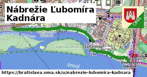 Nábrežie Ľubomíra Kadnára, Bratislava