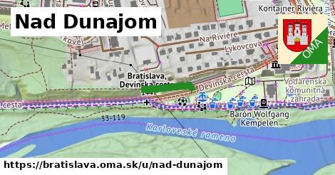 Nad Dunajom, Bratislava