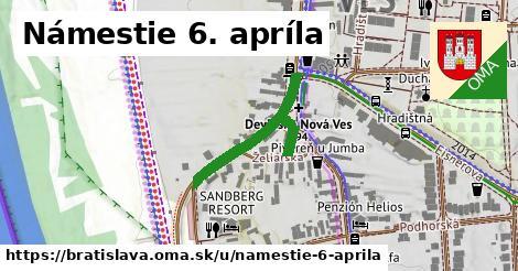 Námestie 6. apríla, Bratislava