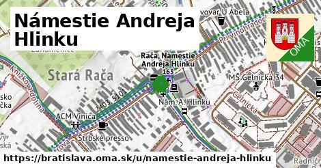 Námestie Andreja Hlinku, Bratislava