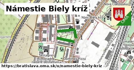 Námestie Biely kríž, Bratislava