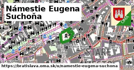 Námestie Eugena Suchoňa, Bratislava