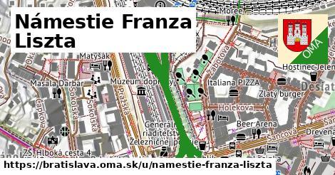 Námestie Franza Liszta, Bratislava