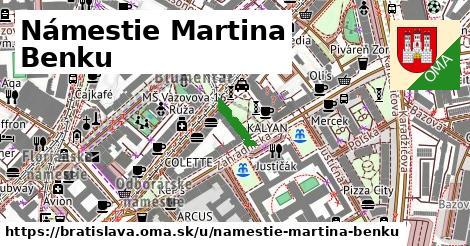 Námestie Martina Benku, Bratislava