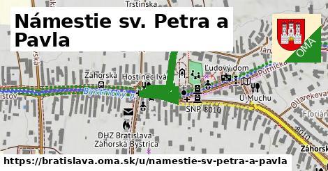 Námestie sv. Petra a Pavla, Bratislava