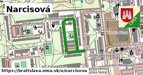 Narcisová, Bratislava