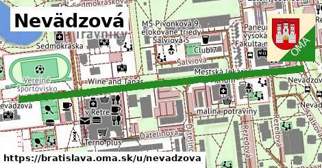 ilustrácia k Nevädzová, Bratislava - 691m