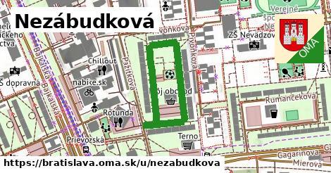 Nezábudková, Bratislava