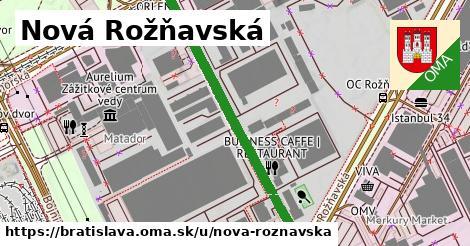 Nová Rožňavská, Bratislava
