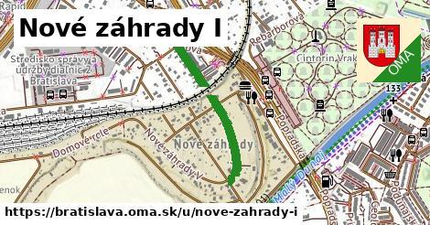 Nové záhrady I, Bratislava