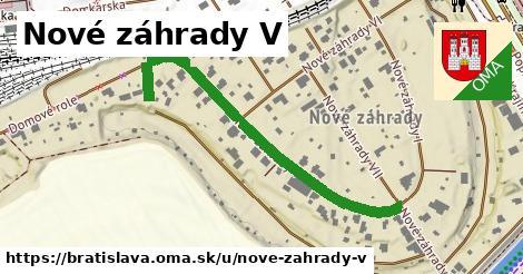 Nové záhrady V, Bratislava