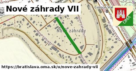 Nové záhrady VII, Bratislava