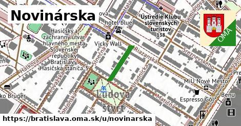 Novinárska, Bratislava