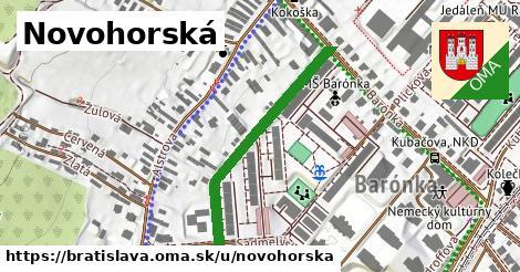 Novohorská, Bratislava